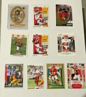 KANSAS CITY CHIEFS 20 FB CARDS WITH PATRICK MAHOMES II ROOKIE, KELCE,HILL LOOK!