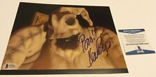 KEN PAGE NIGHTMARE BEFORE CHRISTMAS OOGIE BOOGIE SIGNED 8X10 PHOTO BECKETT BAS