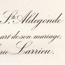 Gérard De Sainte-Aldegonde Paris 1883 Marie Larrieu