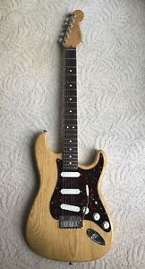 1996 Fender Stratocaster Strat Plus Natural With Tremsetter