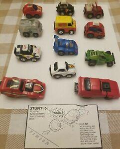 Vintage Tonka Turbo Tricksters & Takara Penny Racers Lot Of 12