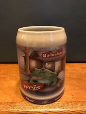 Anheuser Busch 1995 Budweiser BUD FROG Beer Stein Bud-Weis-er W Germany