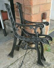 Cast Iron Bench Ends vintage small and well made child
