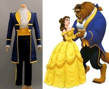 NEW Beauty and the Beast Prince Adam mens adult Cosplay Disney full Costume M L
