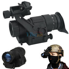Helmet Goggle Waterproof Infrared IR Monocular Night Vision HD Telescope Device