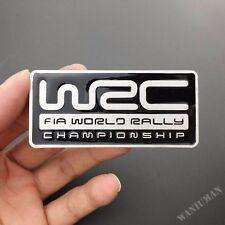 WRC World Rally Auto Car Metal Emblem Badge Decal Sticker Subaru STI WRX Impreza
