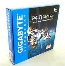 NEW ~ Gigabyte GA-8I865GVME Titan P4 Socket 478 DDR400 Motherboard