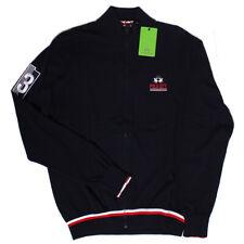 La Martina Full Zip Navy Jacket Sweater Jumper Sweatshirt Polo City Size XL BNWT