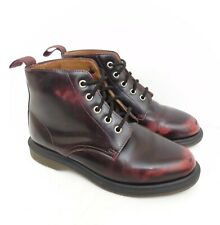 Dr. Martnes Emmeline Oxblood Red Boots UK 4
