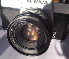 Konica Autoreflex T SLR Camera w/ Konica Hexanon 52mm f/1.8 Lens