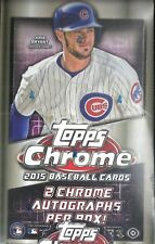 2015 Topps Chrome Baseball Hobby Box  Carlos Correa  Kris Bryant  RC's ??