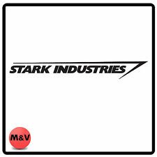 Stark Industries sticker for laptop, xbox, playstation, car bumper etc, Marvel