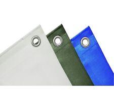 blau//grau 180g ca 4 x 5m Schuller Schutzplane mit Ösen