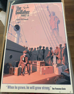 Godfather II Poster - 2015 - LAURENT DURIEUX - Odd City - Limited to 375
