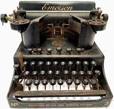 ►Antigua maquina de escribir EMERSON Nº3 rare TYPEWRITER circa 1910 ►