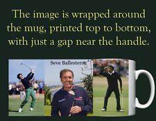 Seve Ballesteros - Personalised Mug / Cup