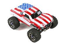 Custom Body American Flag Style for Traxxas T / E Maxx Shell Cover 3911R E-Maxx