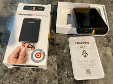 Polaroid Zip Instant Mobile Printer (Black) W/ Original Box & Quick Start Guide