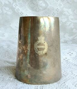 Antique Silver Plated Tankard