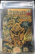 Fantastic Four #77 (Aug 1968, Marvel) PGX not CGC CBCS Galactus Silver Surfer