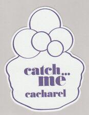 Carte  publicitaire - advertising card  - Catch Me Cacharel