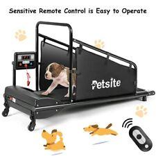 Dog Treadmill Running Machine Pet Fitness 1.4'' LCD Display & Remote