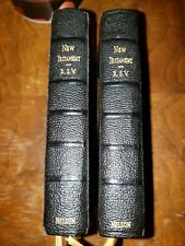2 Holy Bible New Testament RSV Revised Standard Version Nelson 1946 Pocket Small
