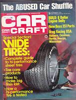 Car Craft Magazine Drag Racing USA Wide Tires  December 1972  FREE US S/H