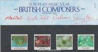 GB 1985 EUROPA COMPOSERS PRESENTATION PACK 161 sg:1282-1285
