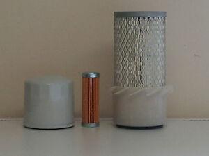 Kubota B6100, B6200 w/D650-A Eng. Filter Service Kit