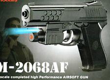AIR SPORTS LASER GUN RED LASER + BLUE LIGHT PISTOL WITH BULLET GIFT TOYS