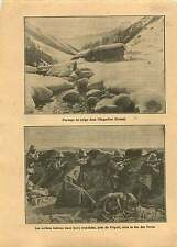 Engadine Suisse/ Italo-Turkish War Tripoli Italia Soldiers  1912 ILLUSTRATION