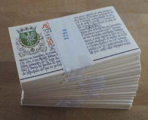 1986 Portugal; 100 Markenheftchen Burgen &? (I), **/MNH, MiNr. 1680, ME 500,-