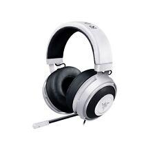 Razer Kraken Pro V2 Oval Ear Cushions 3.5mm Jack Gaming Headset w Mic White GS