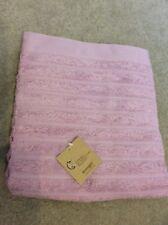 New Linvoges bath sheet pink 100x150cm towel designer