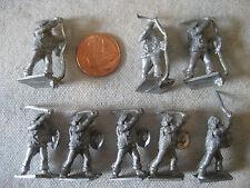 vintage Minifigs English Civil War SCOTTISH WARRIORS rpg gaming miniatures 25mm