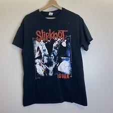 Vintage Gildan Slipknot Iowa Black T-Shirt Sz M