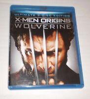 X-Men Origins : Wolverine ( Blu Ray/Dvd ,2011 ) 3 Disc Ultimate Edition