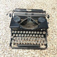 Antique 1920's 1930's Royal Portable Typewriter Black Original Vintage