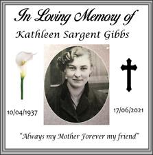 In Loving Memory Coaster - Memorial Coaster - Perspex with 4 anti slip feet