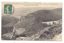 barrage de la tâche à renaison , à gauche le roc du pic