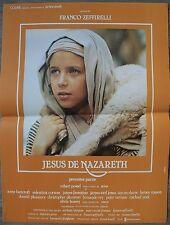 JESUS DE NAZARETH Affiche Cinéma / Movie Poster Robert Powell