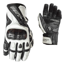 RST Stunt III 3 CE Leather Motorcycle Motorbike Gloves All Colours