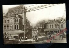 New Zealand Wellington High St  (RP Pre 1914)