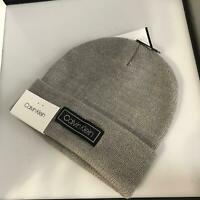 NEW NWT mens calvin klein beanie knit cap hat winter