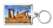 AGRIGENTO ITALY MOD2 KEYRING SOUVENIR LLAVERO