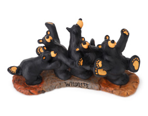 Bearfoots  Wildlife Figurine  Bears From Big Sky Carvers # 3005080145