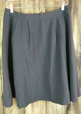 Semantiks Brand Black A-Line Skirt Women's Size 8 Nice Business Cute Career 20""