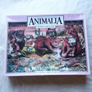 ANIMALIA PUZZLE Graeme Base Puzzle CAT PUZZLE 750 Pieces Murfett Regency Puzzle