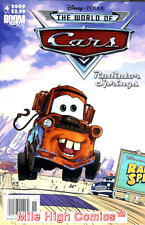 CARS: RADIATOR SPRINGS (2009 Series) #4 NEWSSTAND Very Good Comics Book